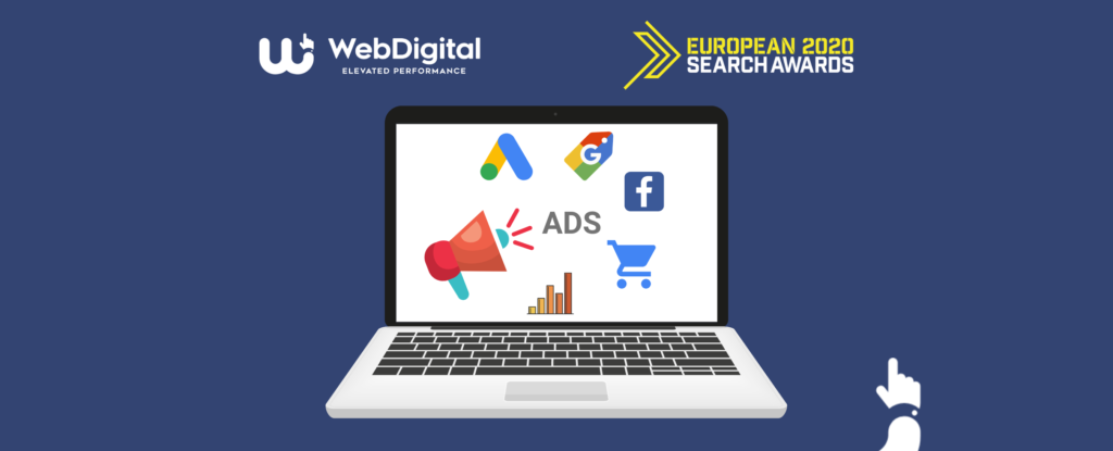 Performance Marketing pentru un magazin online finalist la European Search Awards